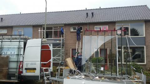 Renovatie 100 woningen Dedemsvaart